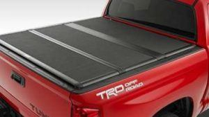 Tonneau cover on Tundra